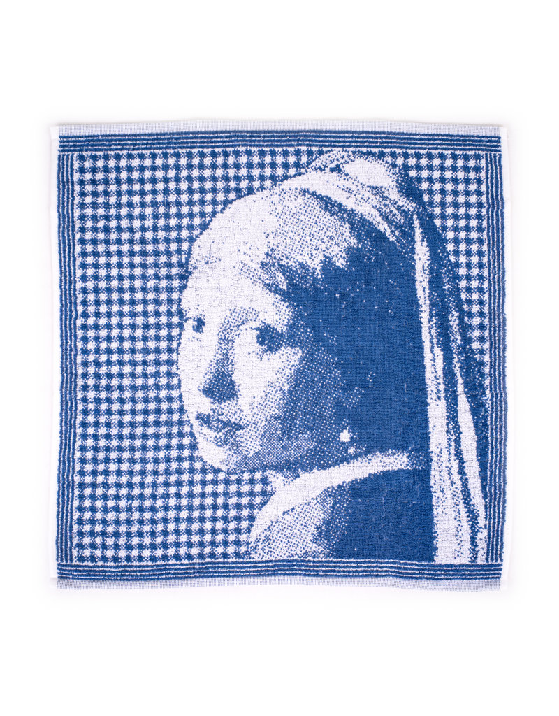 Set of kitchen towels Girl with a pearl earring