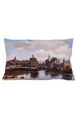 Cushion View of Delft Vermeer