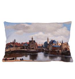 Kussen Gezicht op Delft Vermeer