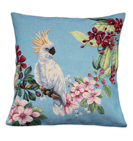 Cushion cover Cackatoo Aqua