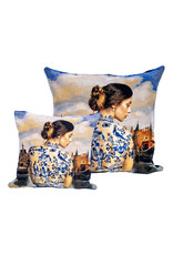 Cushion cover Delft by Isabelle Torrelle