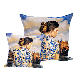 Cushion cover Delft