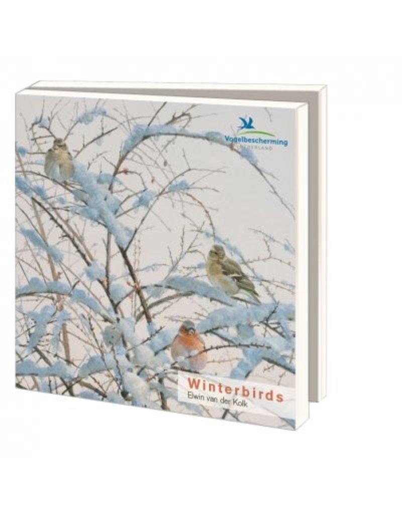 Card Wallet Winterbirds, Elwin van der Kolk