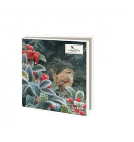 Card Wallet  Winter birds, Elwin van der Kolk