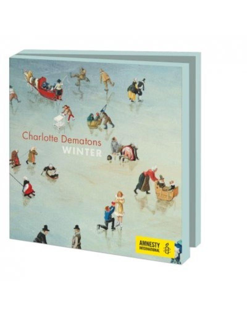 Kaartenmapje Winter, Charlotte Dematons, Amnesty International