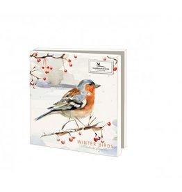 Card Wallet  Winter Birds, Michelle Dujardin