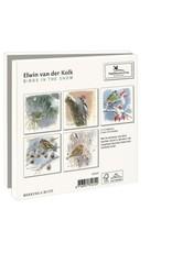 Card Wallet  Birds in the Snow, Elwin van der Kolk,