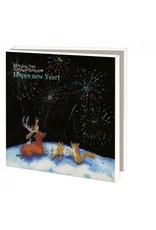 Kaartenmapje Happy New Year, Martine van Nieuwenhuyzen