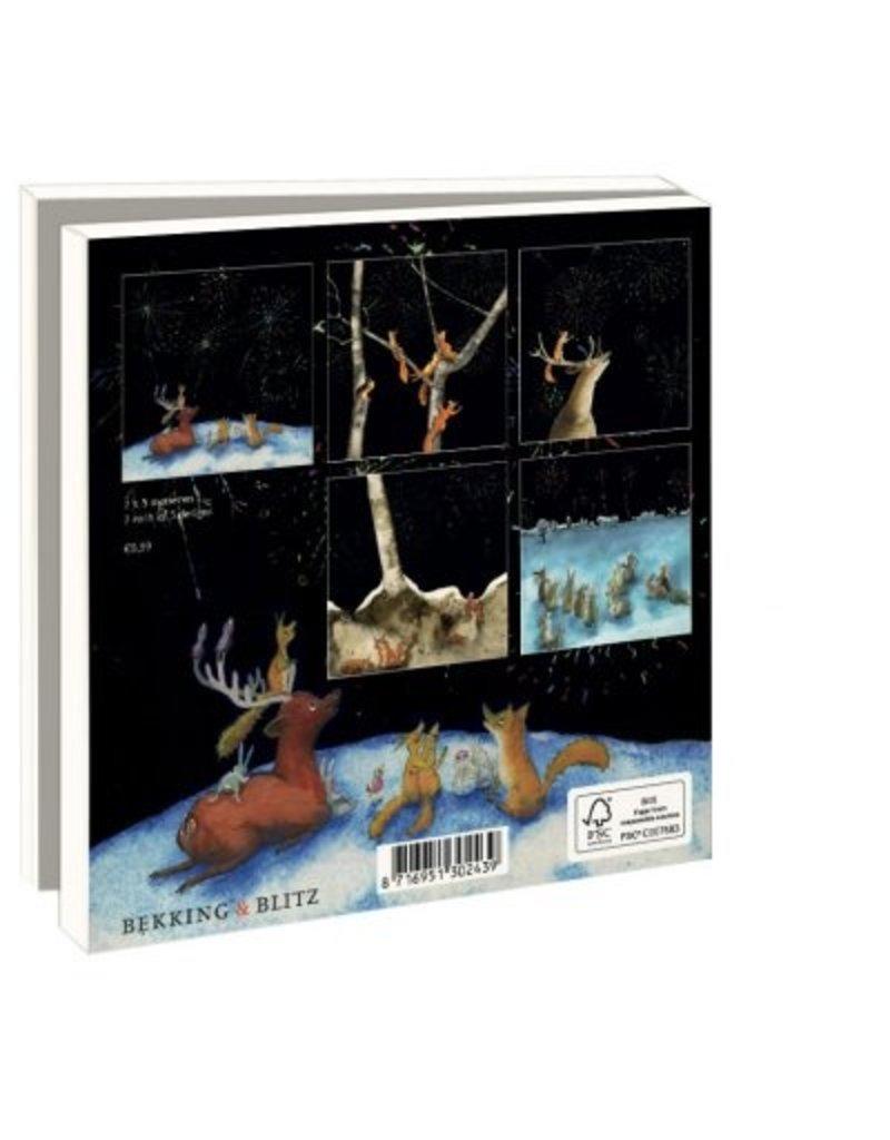 Card Wallet  Happy New Year, Martine van Nieuwenhuyzen