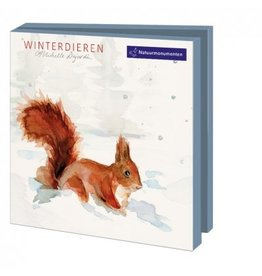 Card Wallet  Winter animals, Michelle Dujardin