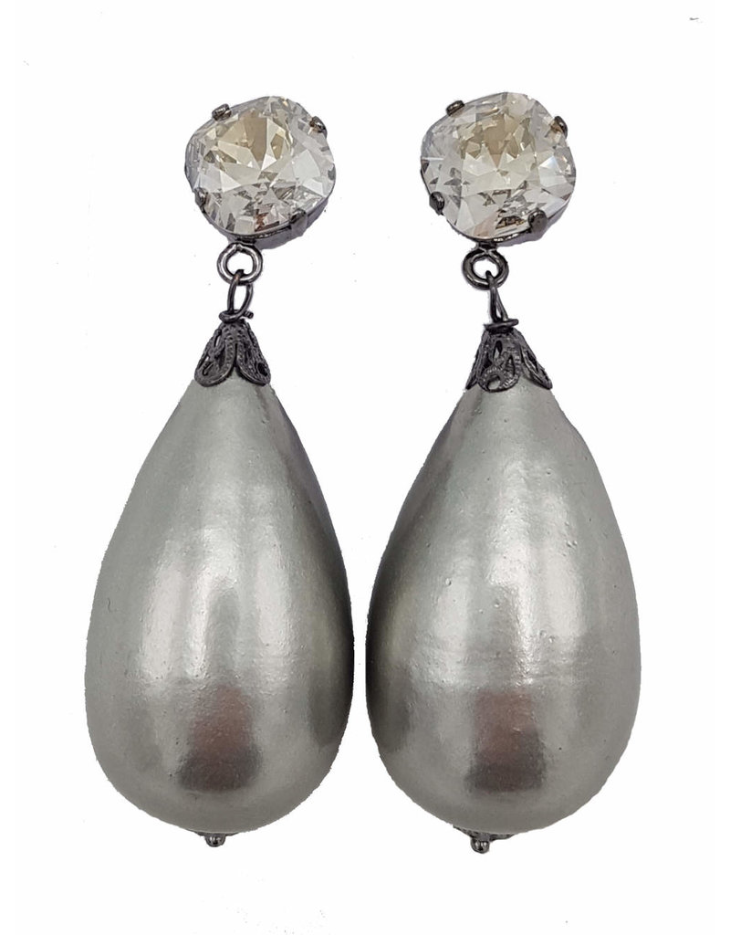 Earrings Papma Grigio