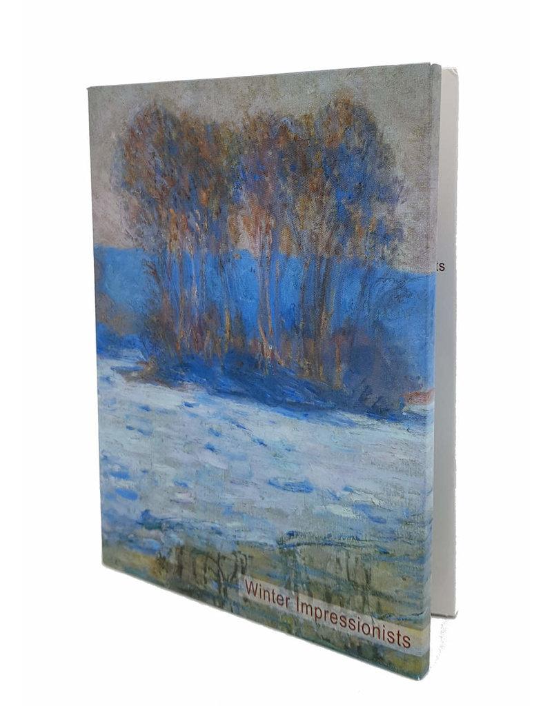 Kaartenmapje Winter Impressionists
