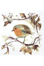 Servetten L Red Robin