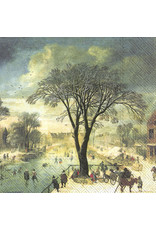 Napkins L Winter Skaters