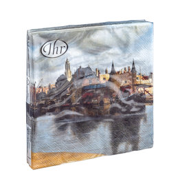 Napkins View of Delft