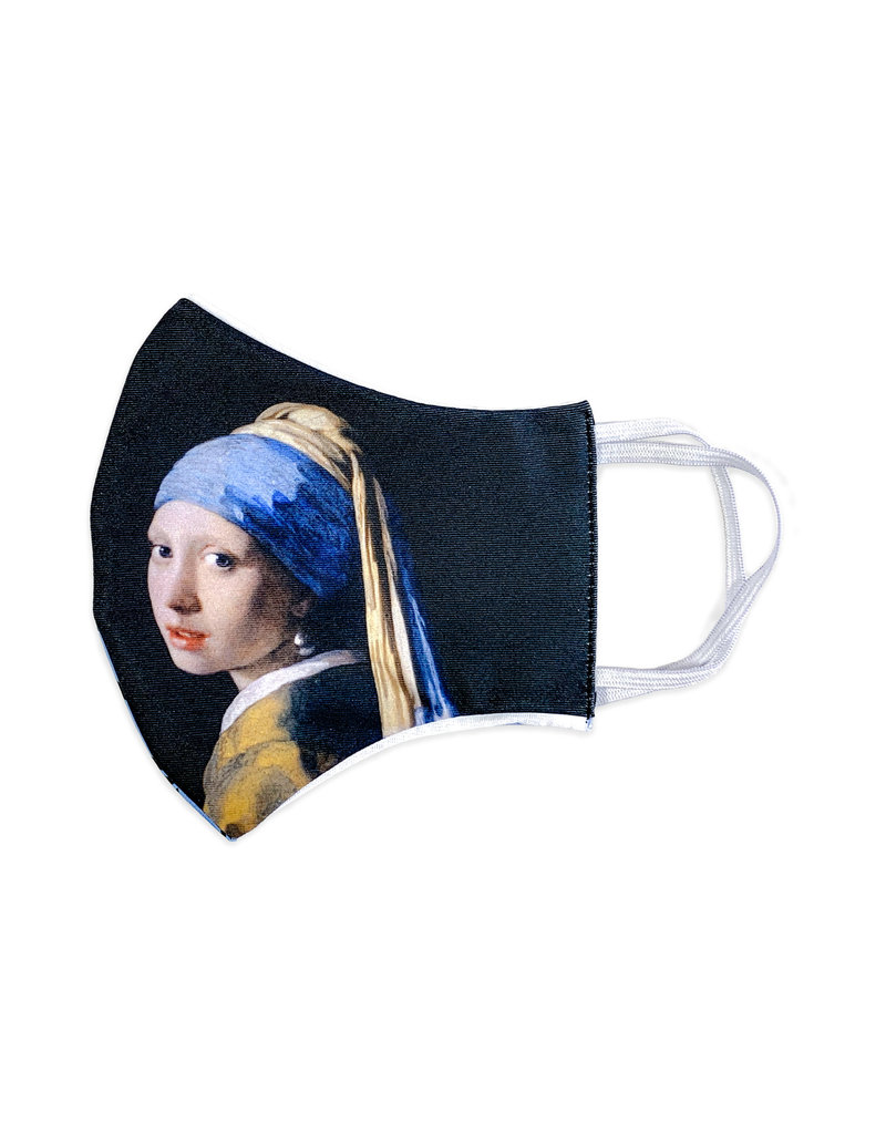 Face Mask Girl with a Pearl Earring