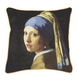 Cushion cover Girl with a pearl earring