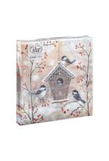 Napkins Beautiful birdhouse
