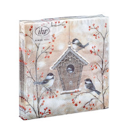 Servetten Beautiful birdhouse
