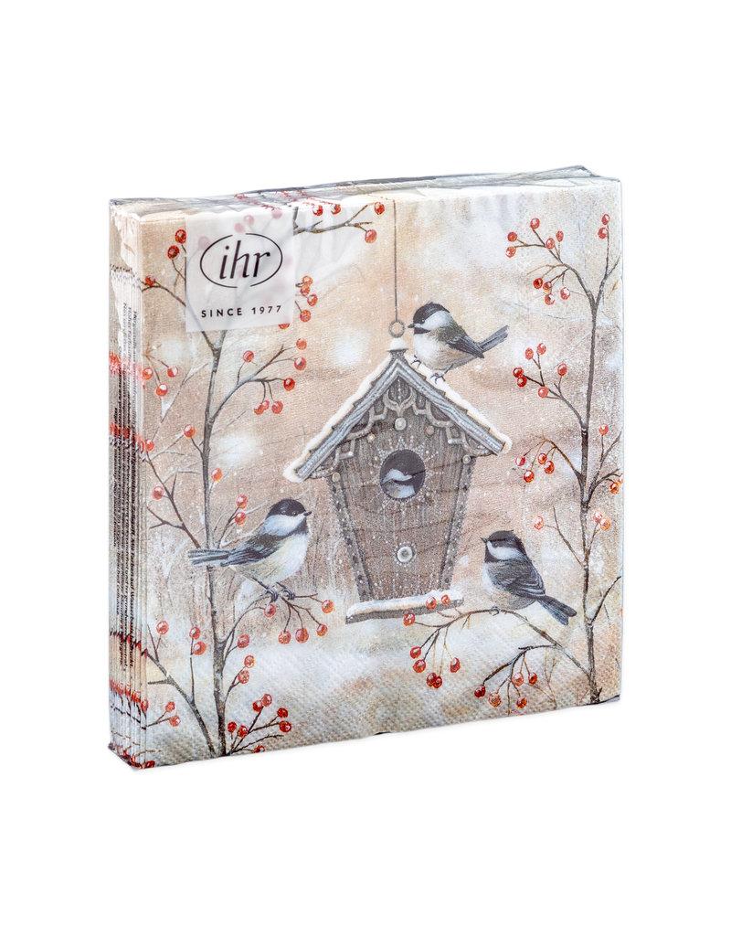 Servetten Beautiful birdhouse