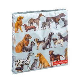 Napkins L Dogs