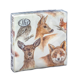 Napkins L Forest Animals