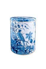 Storage tin Bird Delft blue