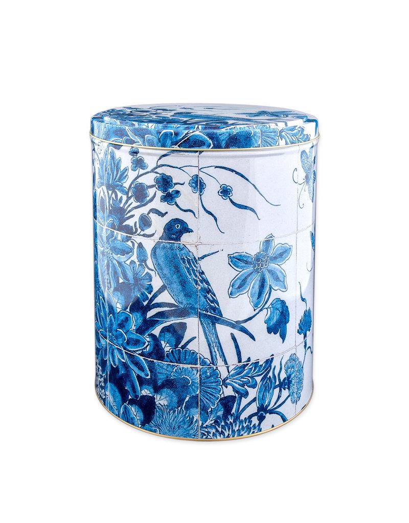 Voorraadblik Vogel Delfts blauw