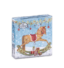 Napkins C Lovely rocking horse