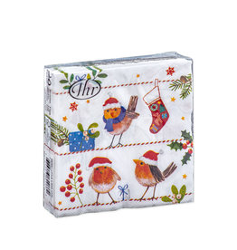 Napkins C Merry Little Xmas