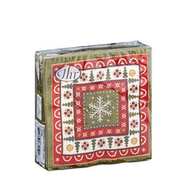 Napkins C Christmas Pattern