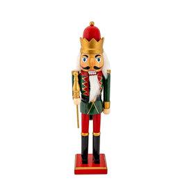 Notenkraker Koning Rood 38 cm
