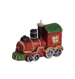 Christmas ornament train