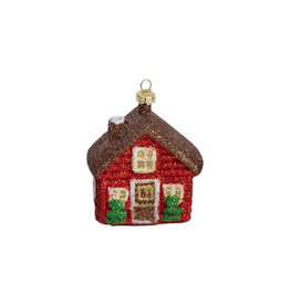 Christmas ornament house