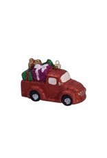 Christmas ornament truck