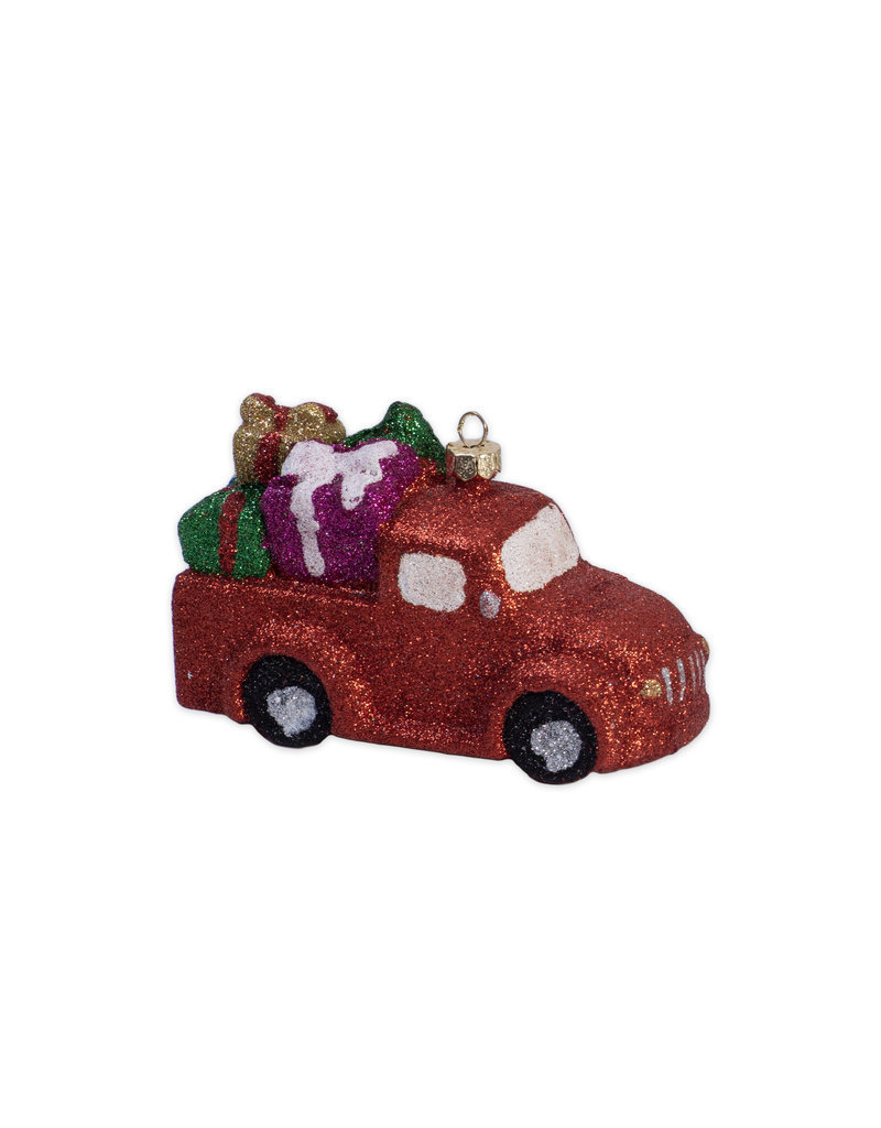 Kerst ornament vrachtauto