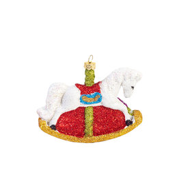 Christmas ornament Rocking horse
