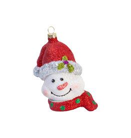 Kerst ornament Sneeuwpophoofd