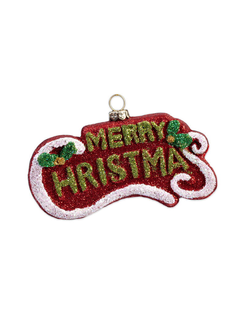 Kerst ornament Merry Christmas