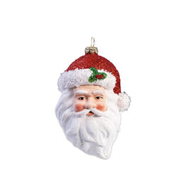 Christmas ornament Santa's head