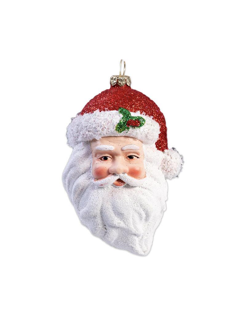 Christmas ornament  Santa's head