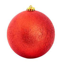 Christmas bauble maxi 150 mm - Glitter