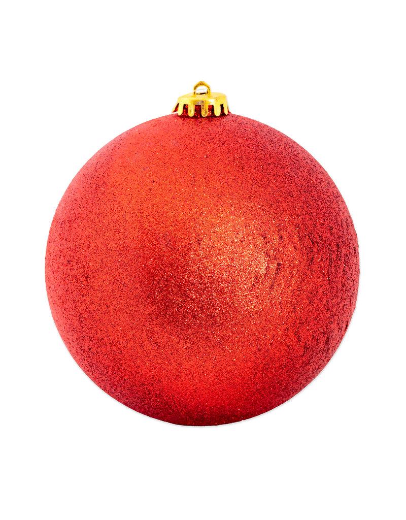 Kerstbal maxi 150 mm - Glitter