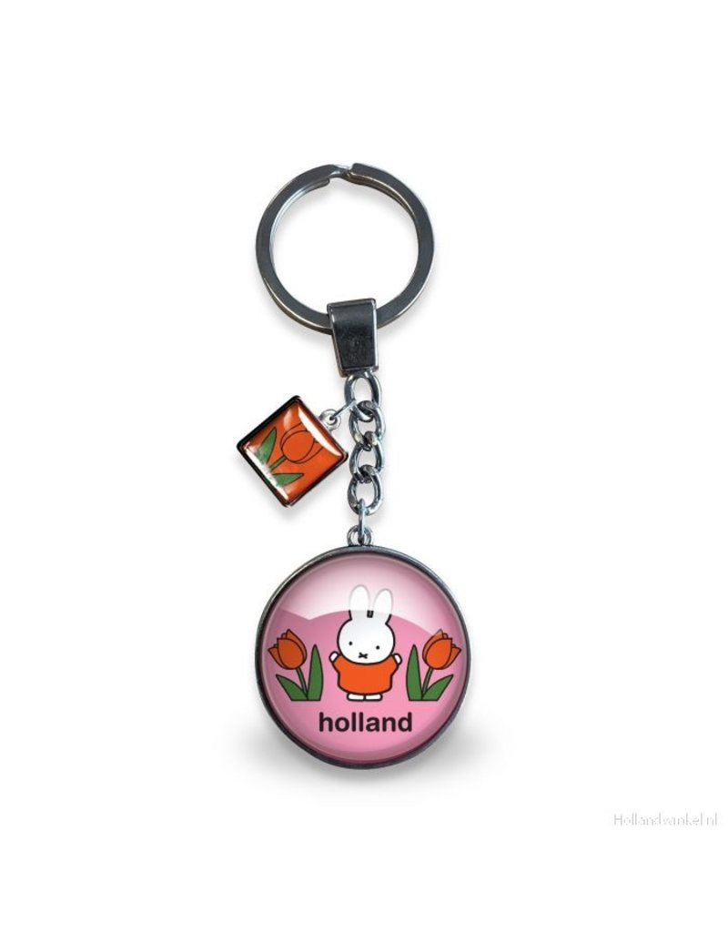 "Keychain Miffy pink ""Holland"""