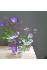 Flower frogs Delft blue