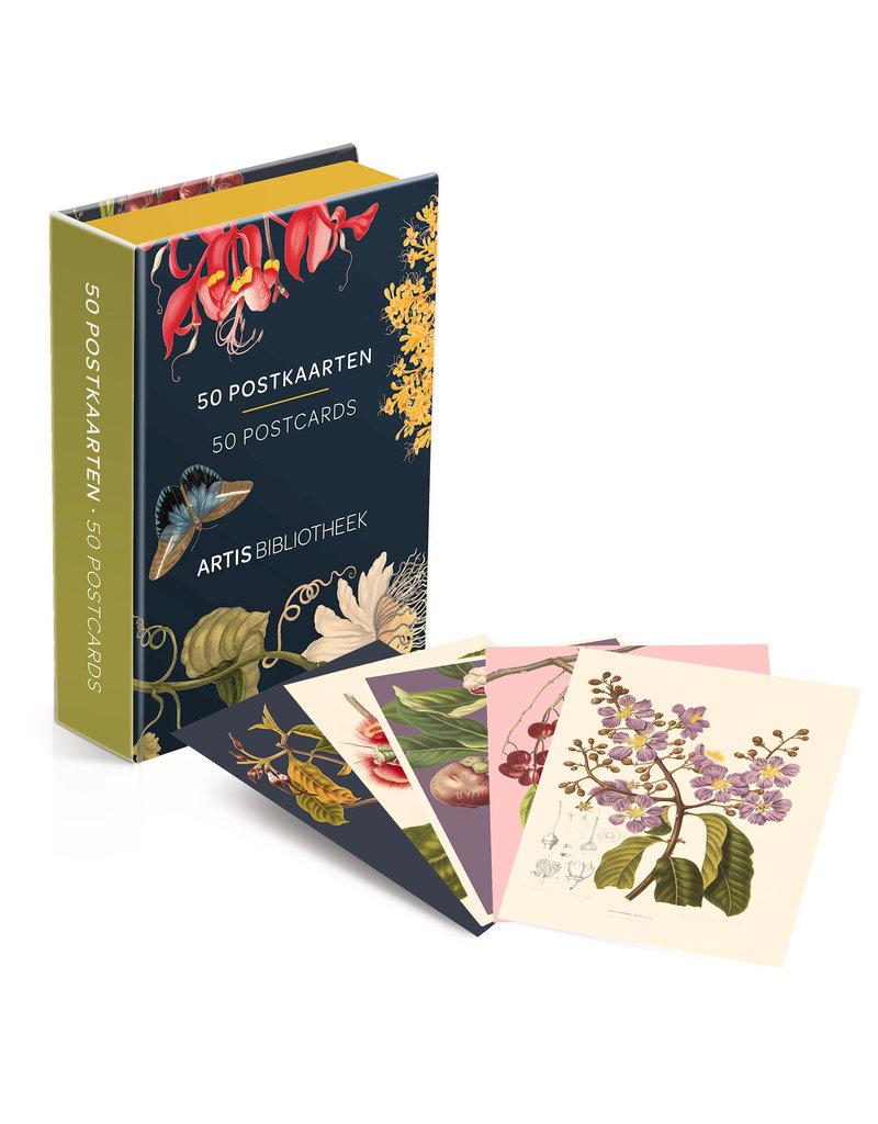 Card Wallet 50 postcards Artis Bibliotheek