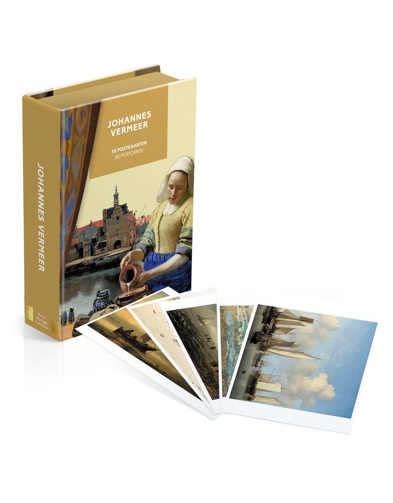 Card Wallet 50 postcards Johannes Vermeer