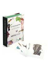Kaartenmapje 50 postkaarten Artis Amsterdam