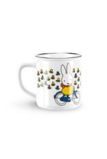 Mug Miffy on bicycle