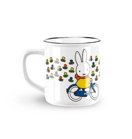 Mok Nijntje op fiets